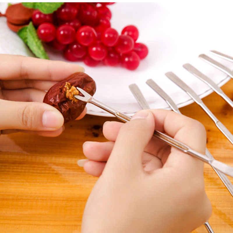1pc de aço inoxidável caranguejo lagosta garfo picaretas útil ajudante nutcracker cozinha ferramentas