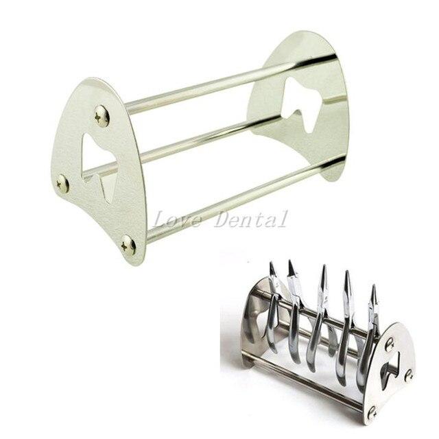 Dental Soporte Del Sostenedor Del Soporte Para la Ortodoncia Alicates Pinzas Tijeras de Acero Inoxidable, alicates de acero Inoxidable de rack