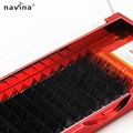 NAVINA Luxury 0.15 JBCD Curl 12 rows per tray False Eyelash Volume Eyelash Extension Mink Fake Lashes Extension Tool