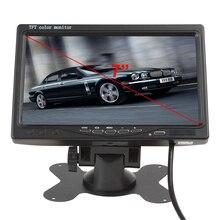 7 Дюймов TFT LCD Автомобильный Монитор Заднего Вида 2 Видеовхода с 420TVL Камера Заднего Вида Новое Прибытие