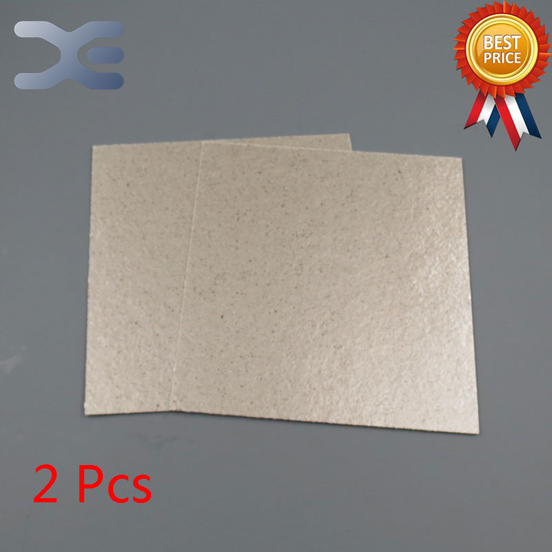 2Pcs/Lot High Quality Microwave Oven Repairing Part 13 x 12cm Mica Plates Sheets For Galanz etc Microwave 10pcs high voltage fuse for microwave oven 0 9a yb