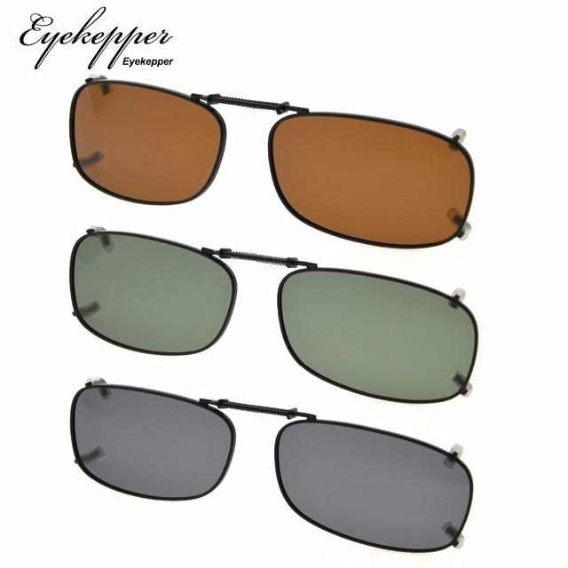 c415f32a3 C85 mix eyekepper gris/marrón/G15 lente 3 pack polarizadas Clip on ...