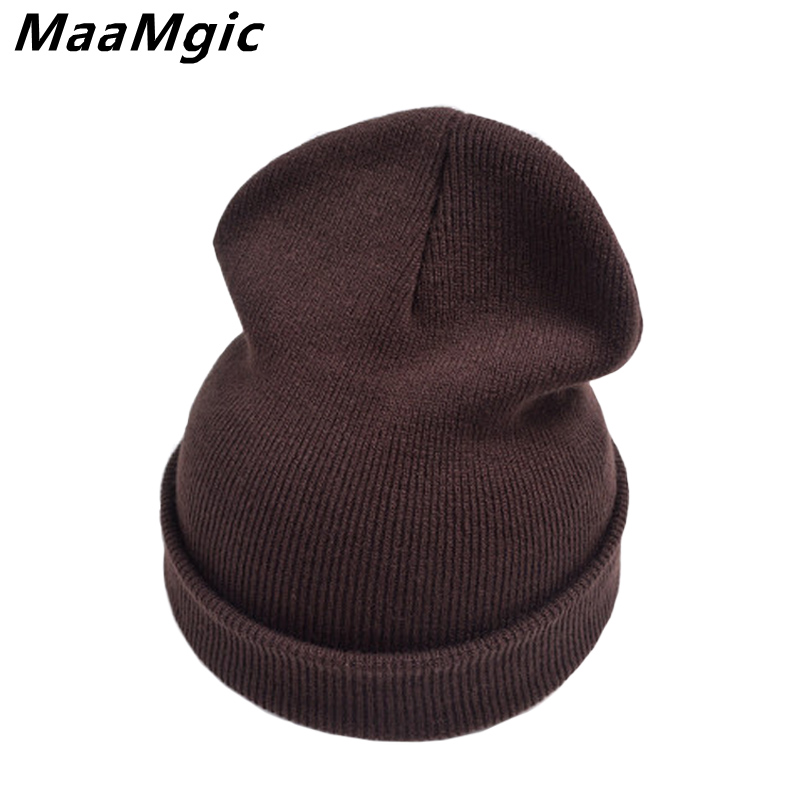 Fashion Wholesale Unisex Brand Hat Winter Hat For Men Women Skullies Boys Girl Women Men Cotton Elasticity Warm Knit Beanies Hat fashion handpainted palm sea sailing pattern hot summer jazz hat for boys