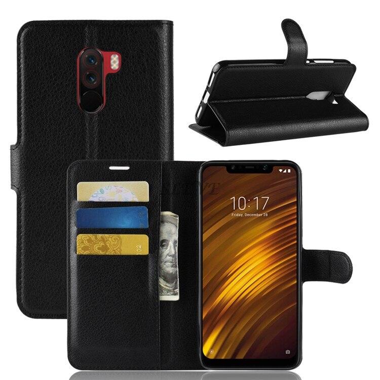 Xiaomi Pocophone F1 Case Xiaomi Poco F1 Flip Case Leather