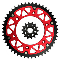 High Performance Motorcycle 14T Front 481T Rear Sprocket Kit For HONDA XR 650 R XR650 R
