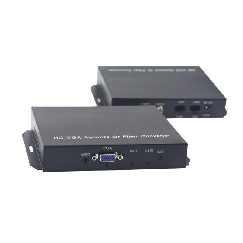 Yüksek Kaliteli Stereo 3.5mm ile 1080 VGA Genişletici Optik fiber - İletişim Ekipmanları - Fotoğraf 3
