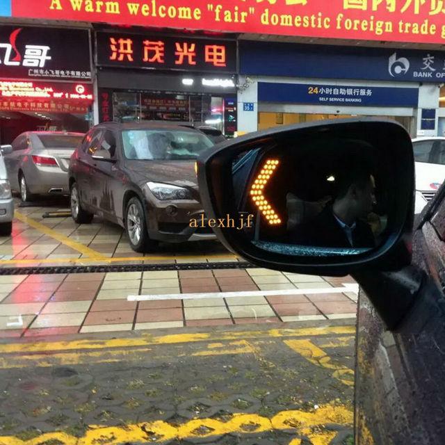 Varthion Lente Espelho Retrovisor Capa para Mazda CX-5 2015 ~ ON, grande Campo De Visão, Espelho azul, Luzes de viragem, calor de Desembaciamento