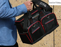 16 Inch Multi Function Electrical Maintenance Kit Canvas Tool Bag Shoulder Bag Thickened