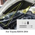 2 шт. автомобиль газовый шок капот подъем демфера спереди двигателя Опора капота стержень лифт для Toyota RAV4 2014 2015 2016 2017 2018