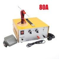 DX80A high power laser spot welder pulse spot welding touch welder welding machine with jewelry equipment