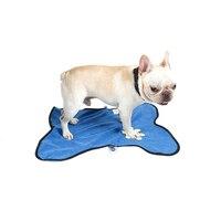 Petacc 50x29 ''PET Bañeras toalla absorbente perro Toalla de secado rápido microfibra toalla cachorro