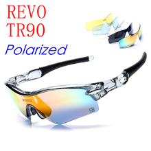 Ski Goggles Airsoftsports Tactical Radar path Sun Glasses Outdoor Sports Bicycle Bike Sunglasses 5 Lens Uv400 Revo Polarized