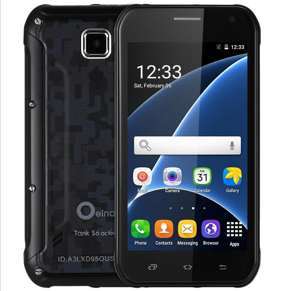 5 0 inch Oeina Tank S6 Android 5 1 Waterproof Explosion proof smartphone Quad Core 3G