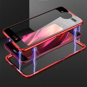 Image 2 - Vivo ため nex 2 デュアルスクリーン磁気ケース nex2 360 フロント + バック両面強化ガラスケース vivo nex 2 磁性金属カバー