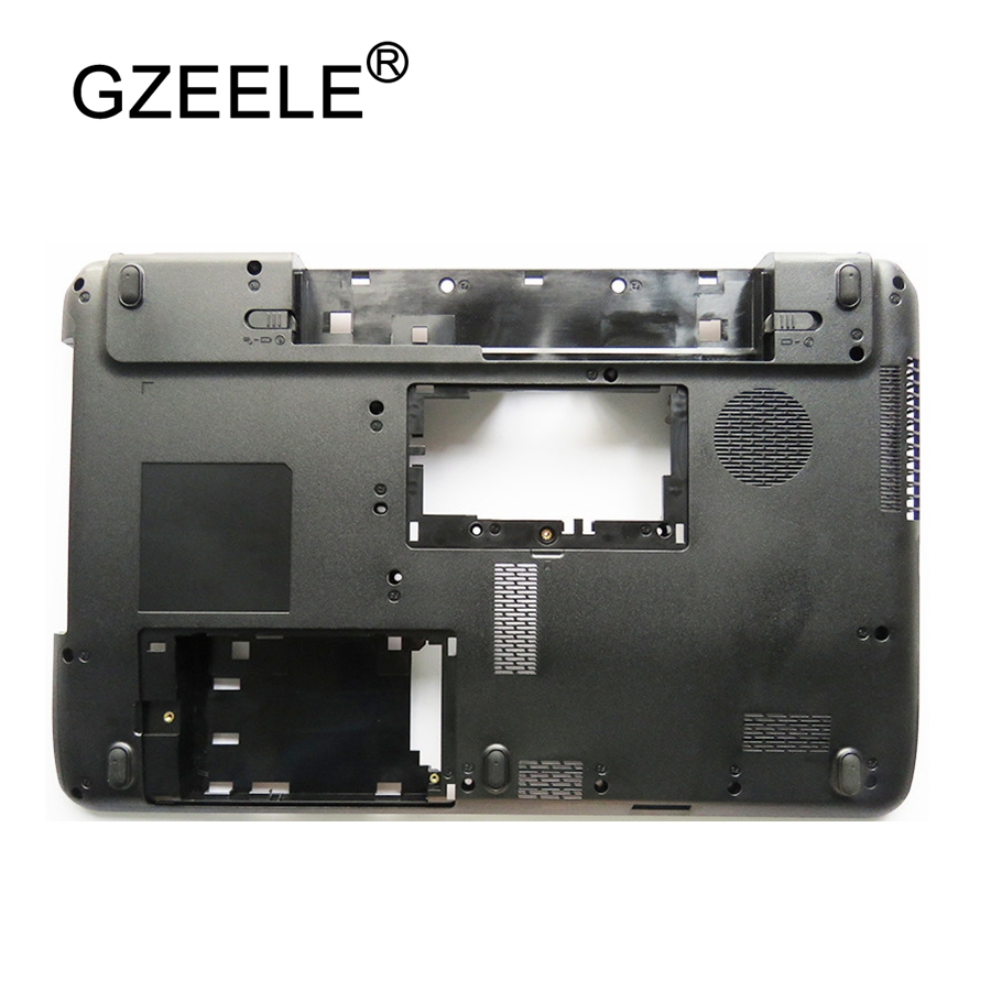 GZEELE New Laptop Bottom Base Case Lower Cover Assembly For Toshiba Satellite C650 C655 C655D Without HDMI 15.6