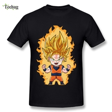 2018 New Arrival Man Goku T Shirt Soft Comfortable Dragon Ball Z T-Shirt Wholesale