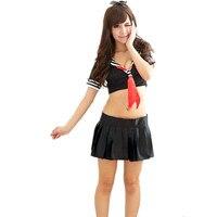 セクシーなランジェリーコスプレ学生制服日本の女子高生制服セックスおもちゃ熱いエロチックなナイトドレス女