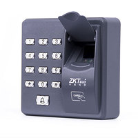 Fingerprint Access Control Standalone Single Door Controller Cheapest Standalone Keypad Finger RFID Card ZKTeco X6 Door