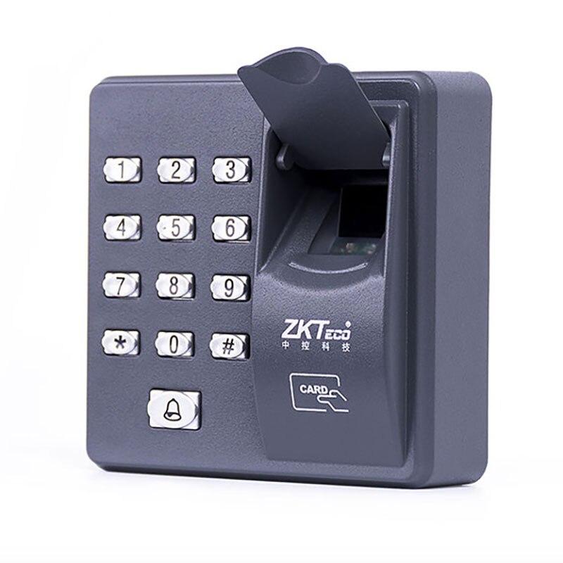 Fingerprint Access Control Standalone Single Door Controller Cheapest Standalone Keypad Finger +RFID Card ZKTeco X6 Door Entry biometric fingerprint access controller tcp ip fingerprint door access control reader