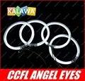 Набор 4 шт. 106 мм CCFL Angel Eyes Halo Кольцо Halo Света катодом чехол для B. MW E46 2D (2003 +) две двери GGG FREESHIPPING ued s