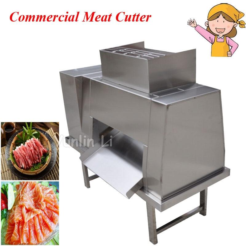 380V Commercial Meat Cutting Machine Meat Slicer Meat Cutter Meat Processing Machine DL free shipping wit ce 110v 220v qx a desktop meat cutting machine meat slicer meat cutter