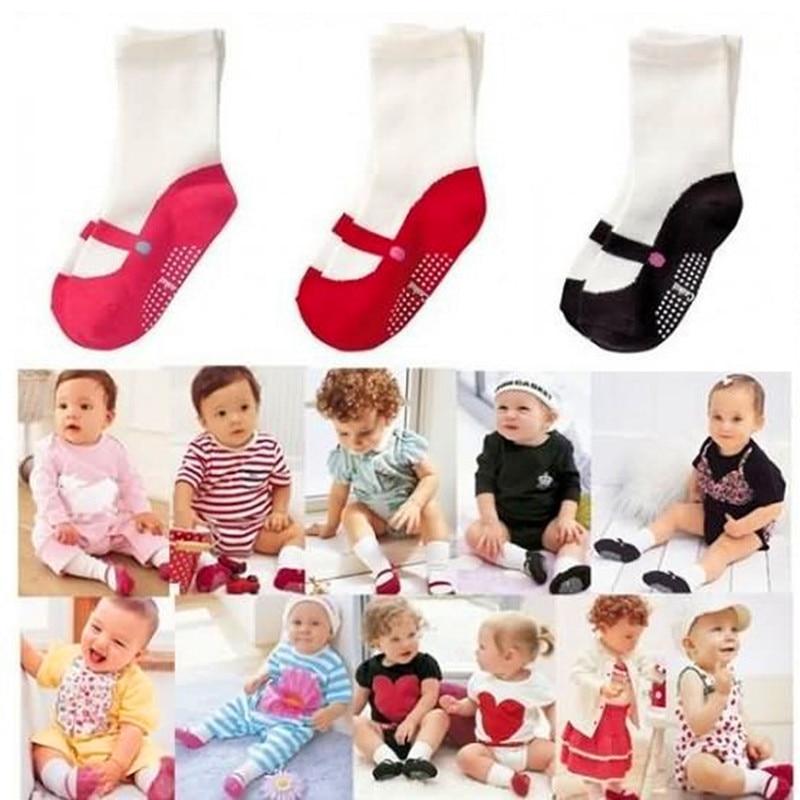 0-2 Years Old Baby Socks Tube Socks Boys And Girls Ballet Socks Winter Christmas Gifts CMC119