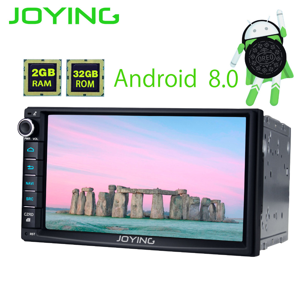 JOYING PX5 Octa 8 Core Android 8.0 Car Radio Audio Stereo 2DIN GPS Navi head unit HD 7'' Touch Screen Media Player Tape recorder joying 2gb hd 10 touch screen 2din android 8 0 car auto radio stereo audio steering wheel head unit gps tape recorder free obd