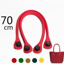 Neue Farbe 1 Para Lange Größe Pu Leder Seil O Tasche griffe Obag AMbag Damentaschen Schulter griffe Zubehör DIY BIN Tasche griff