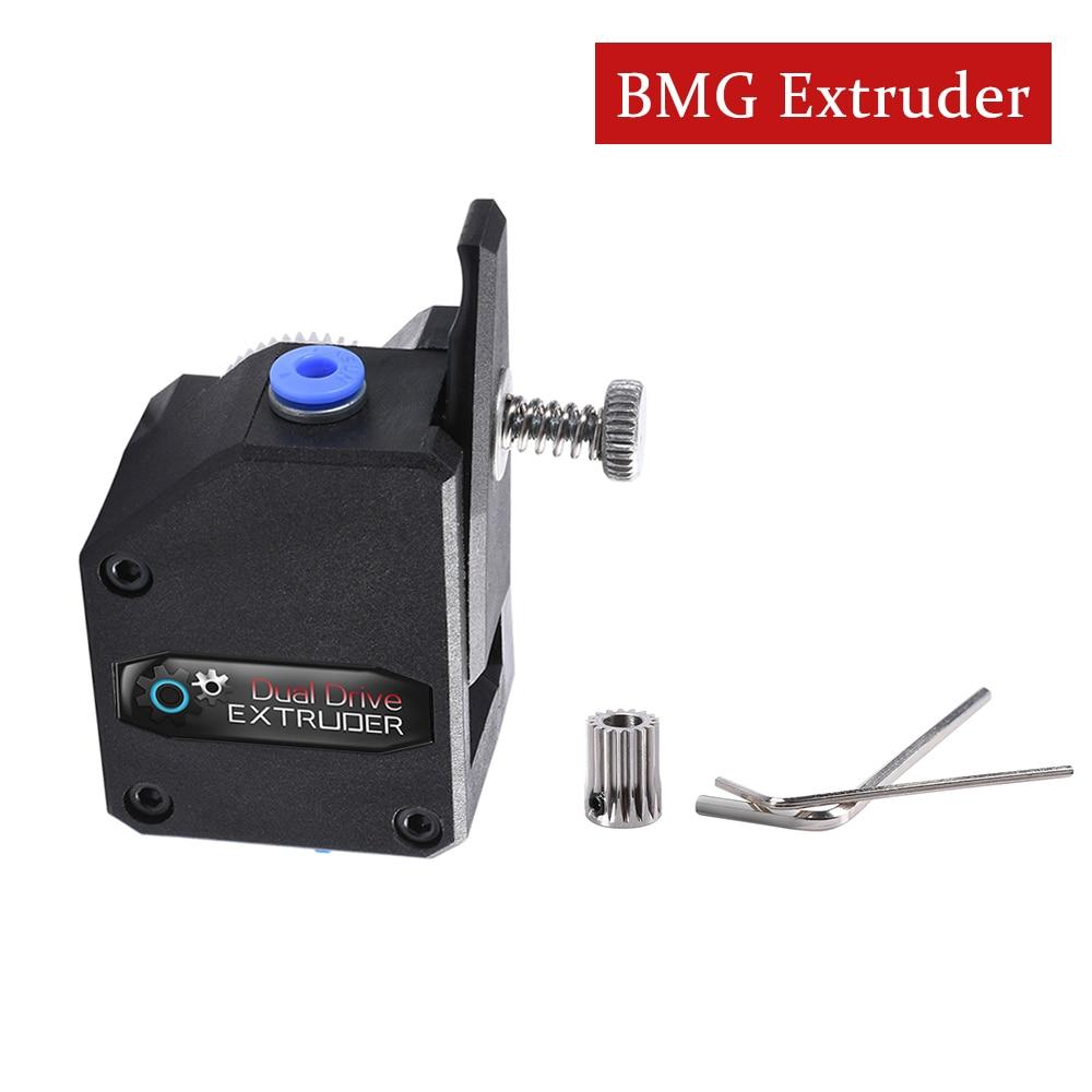 3D Drucker Teile BMG Extruder Geklont Btech Dual Stick Extruder Bowden Extruder Filament Dual Getriebe Für 3D Drucker CR10 MK8 reprap