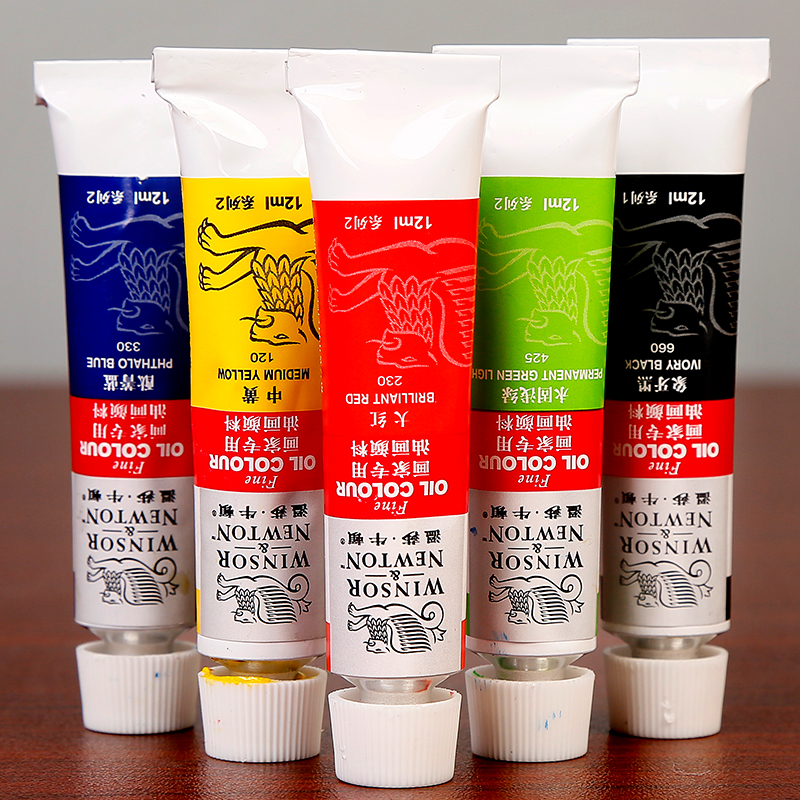 Professional 12 18Colors Oil Paint Set High Quality Oil Painting Pigment For Artist School Student Acuarelas Art Supplies in Oil Paints from Office School Supplies