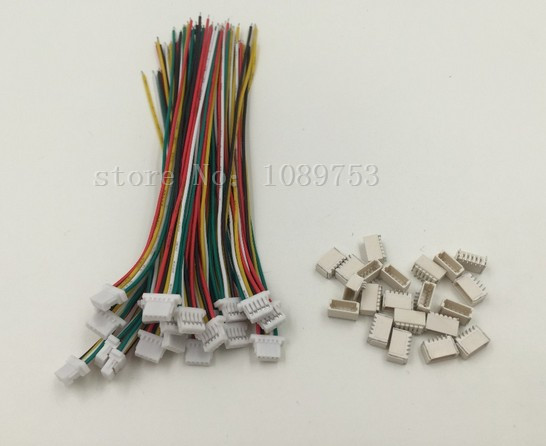 10 sets Micro JST 1.0mm 5-Pin Connector with Wire mini micro jst 2 0mm t 1 6 pin connector w wire x 10 sets 6pin 2 0mm