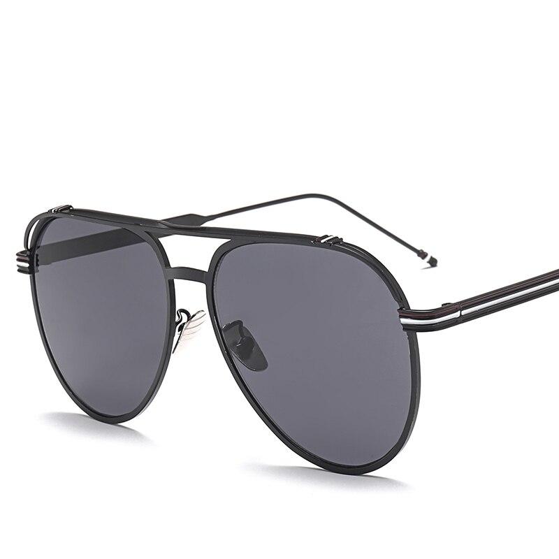 SUERTREE óculos de Sol Da Moda Rodada Dupla Brige gafas de sol Dos Homens Óculos de Sol Do Vintage de Metal Retro UV400 Proteger 1088