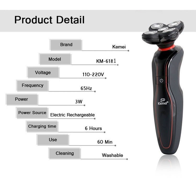 men\'s electric shaver 6