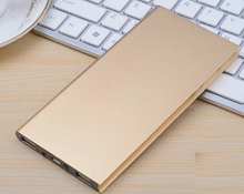 Mobile Phone Portable Charger Power Bank 20000mAh Ultra Thin External Battery Lithium Polymer