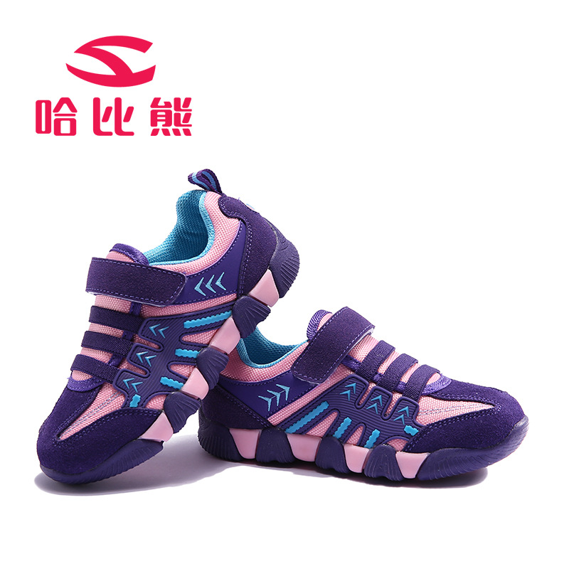 HOBIBEAR Classic Sport Kids Shoes Girls School Sneakers Fashion Active Shoes For Boys Trainers All Season #26-37 hobibear classic sport kids shoes girls school sneakers fashion active shoes for boys trainers all season 26 37
