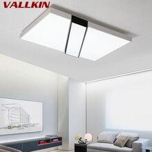Светодиодный потолочный светильник для гостиной, прямоугольник, простой, современный, для дома, индивидуальный, креативный, светодиодный, потолочный светильник, для ресторана, спальни