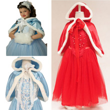 2019 Easter Cinderella Shawl Princess Dress Vestidos Costume Kids Dresses For Girls Children Party Cosplay Dress 10 Year BX1620 недорого