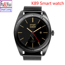 New Fashion K89 Smart Watch Heart Rate Monitoring Far Card Health Monitoring Bluetooth Smart Watch Support IOS Android PK K18S
