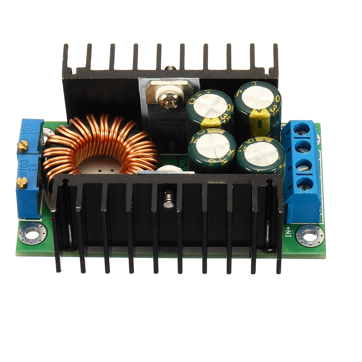 1PC New DC-DC CC CV Buck Converter Step-down Power Module 7-32V to 0.8-28V 12A 300W Board Electronic Components & Supplies