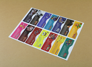 Image 4 - 1set=14pcs Customer Design for GBA SP Label Sticker Lable For GBA SP Console Back Tag
