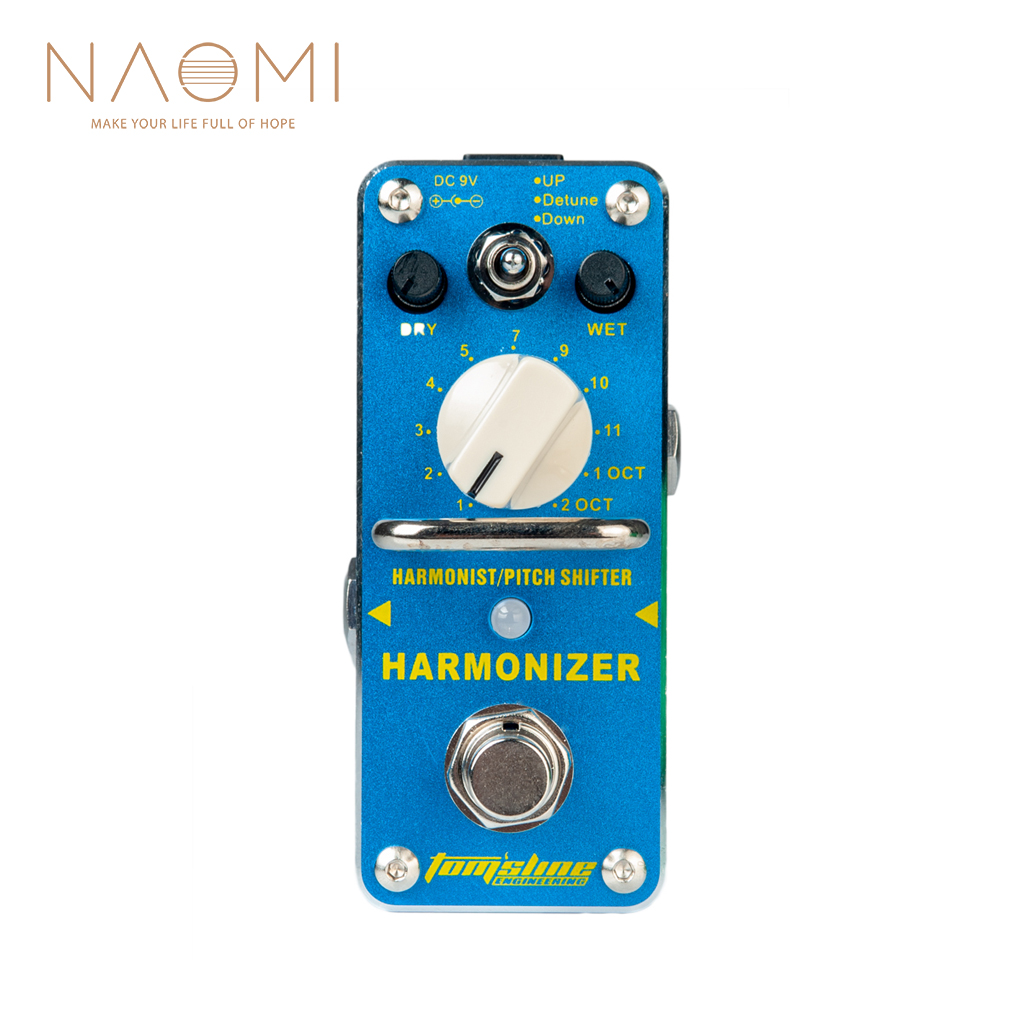 NAOMI Aroma AHAR 3 Guitar Pedal  Electric Guitar Effects Pedal Tomsline Harmonizer Harmonist/Pitch Shifter Guitar Accessories-in Guitar Parts & Accessories from Sports & Entertainment    1