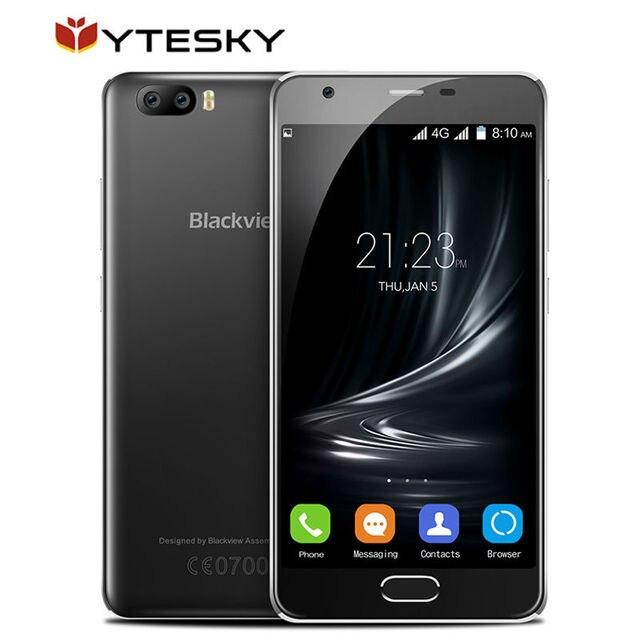 "Blackview A9 PRO Dual Back camera mobile phone Android 7.0 5.0"" MTK6737 Quad Core 2GB+16GB 8MP Fingerprint 2500mah 4G Smartphone"