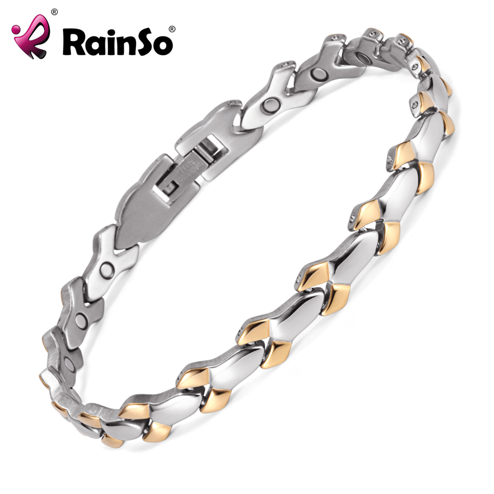 Stainless Steel Woman Bracelet Silver He