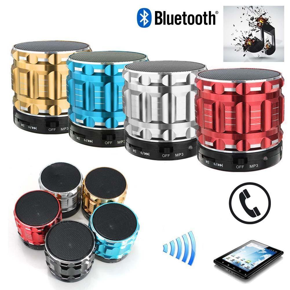 Wireless Bluetooth Speaker Mini SUPER BASS Portable For Smartphone Tablet Red mini speakers cheap bluetooth speakers 3 colors