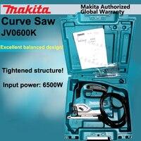 Япония Makita jv0600k Curve Пилы s регулируемый Электрический сабельная пила деревообработки Металл Пилы S электричество Пилы S 650 Вт