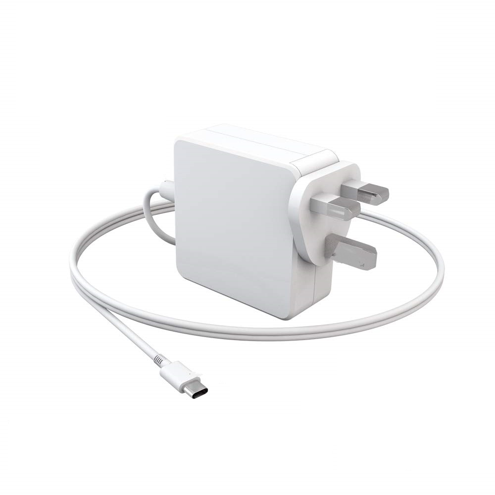 UK 65W USB Type C Charger Compatible 61W,<font><b>60W</b></font>,45W,30W,29W 18W For Macbo0k Air Pro Dell HP Asus Lenovo Xiaomi Laptops Mobile Phone image