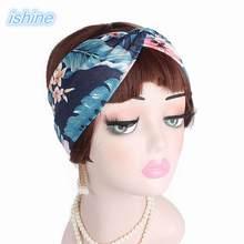 Mujeres torció la venda Floral verano Bohemia Floral estiramiento banda de  pelo para las niñas elástico turbante vinchas Spa 1d68ff865ea6