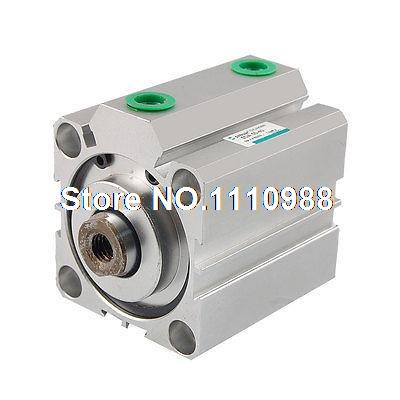 50mm Bore 40mm Short Stroke Compact Air Cylinder 1.0MPa50mm Bore 40mm Short Stroke Compact Air Cylinder 1.0MPa
