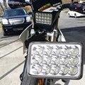 H4 4x6 inch LED Headlight Lamp For Honda XR250 XR400 XR650 and Suzuki DRZ