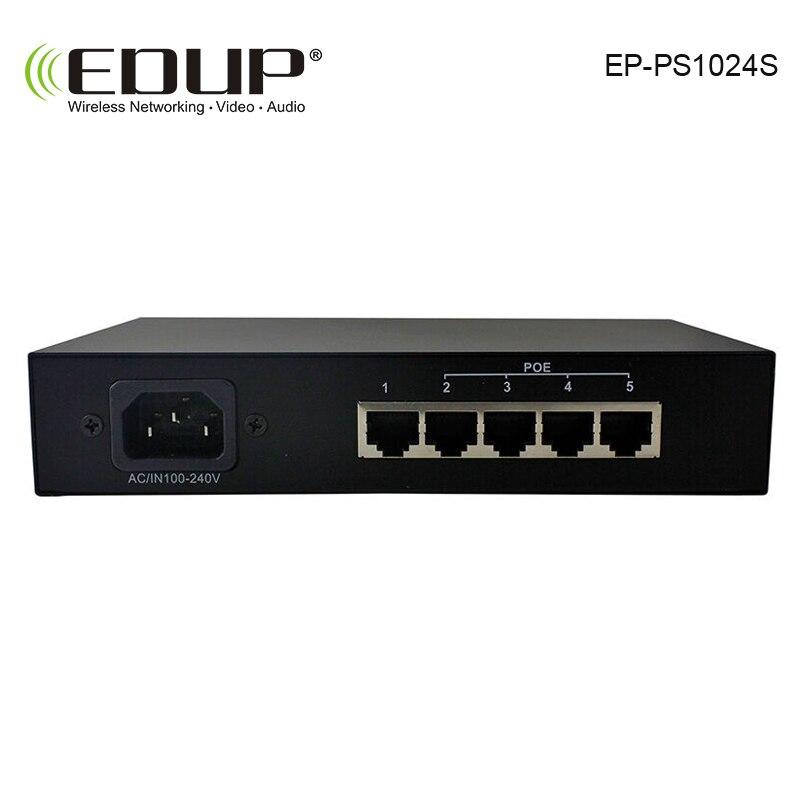 EDUP 8 порт 10/100 м POE коммутатор сети совместимых сетевые камеры и беспроводной AP power IEEE 802.3af EU/US Plug